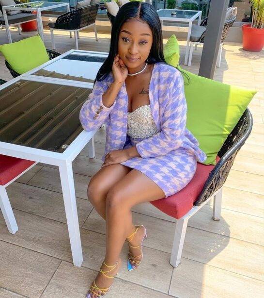 Efia Odo gets new boyfriend