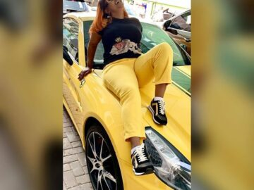 Nana Ama McBrown's super expensive cars