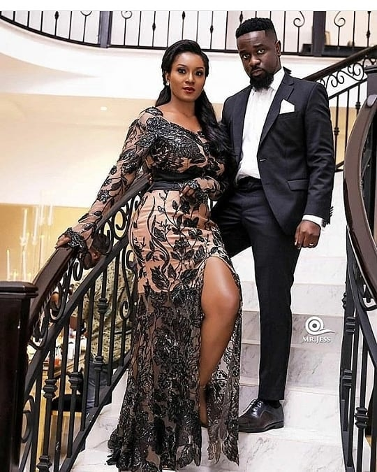 Sarkodie's wife is pregnant