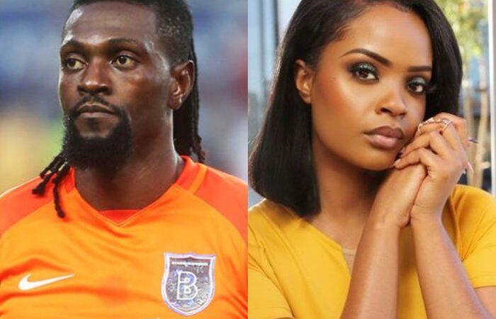 Emmanuel Adebayor Dumps His Beautiful Namibian Girlfriend, Dilish Mathews