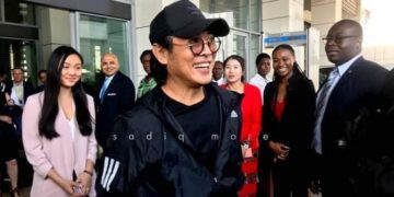 Popular Chinese Actor, Jet Li Arrives In Ghana