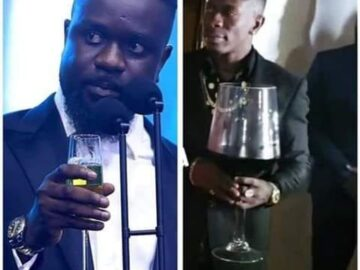 My Wine Glass Is Bigger Than Sarkodie's Glass - Shatta Wale
