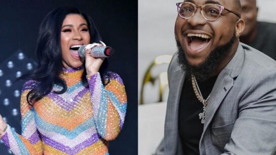 """Cardi B Remixes Davido's """"IF"""" Song & Jams To It In A Private To Ghana"""