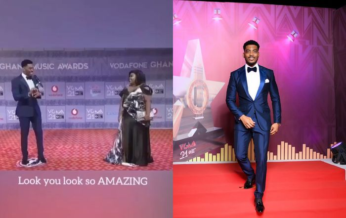 Video Wtf 27 Times Actor James Gardiner Used The Word Amazing On The 2020 Vgma Red Carpet Thegossipscoop Com